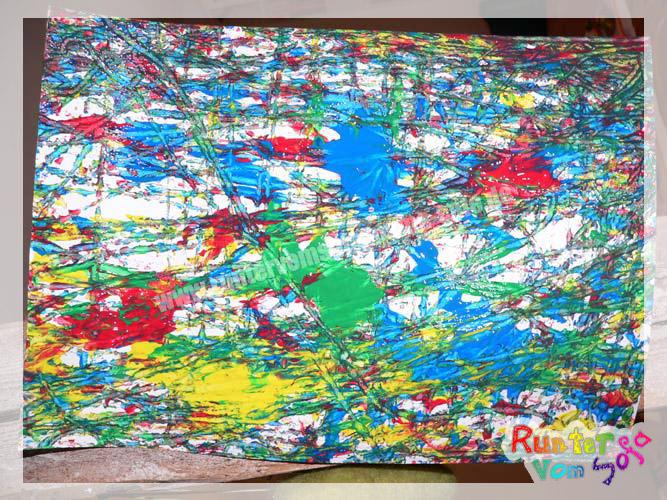 Murmelbilder runter vom sofa - Maltechniken kindergarten ...